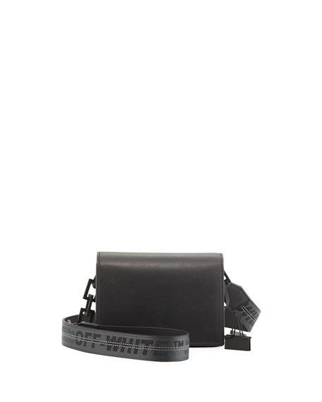 New Flap Mini Bag, Black
