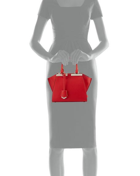 3Jours Mini Leather Tote Bag