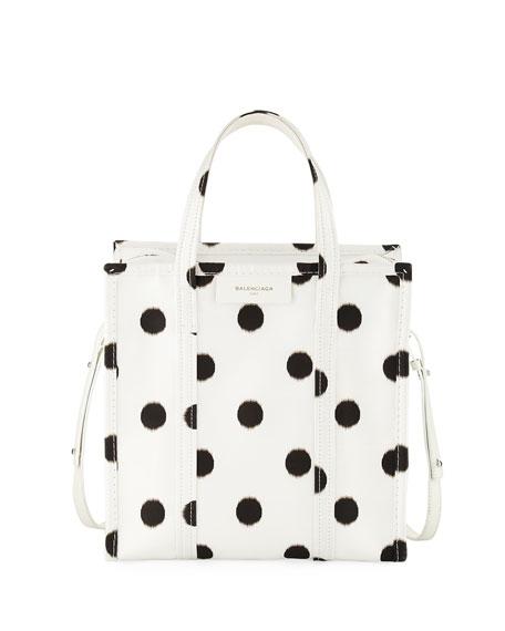 Bazar Shopper Small AJ Polka Dot Tote Bag