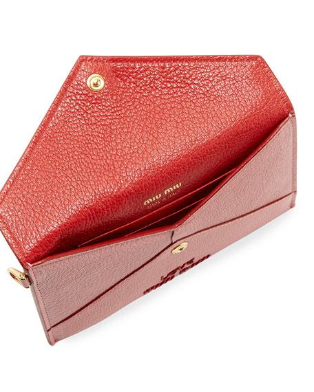 Madras Love Envelope Clutch Bag