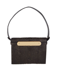 Edie Parker Candy Python Top-Handle Bag 0xaCVr