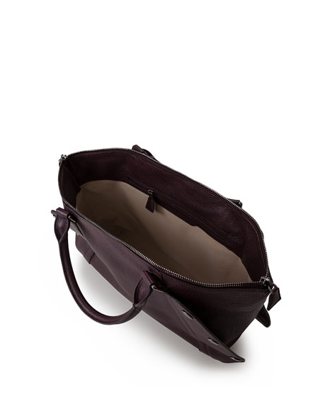 Aimee Small Calf Leather Satchel Bag