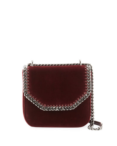 Medium Velvet Falabella Box Bag