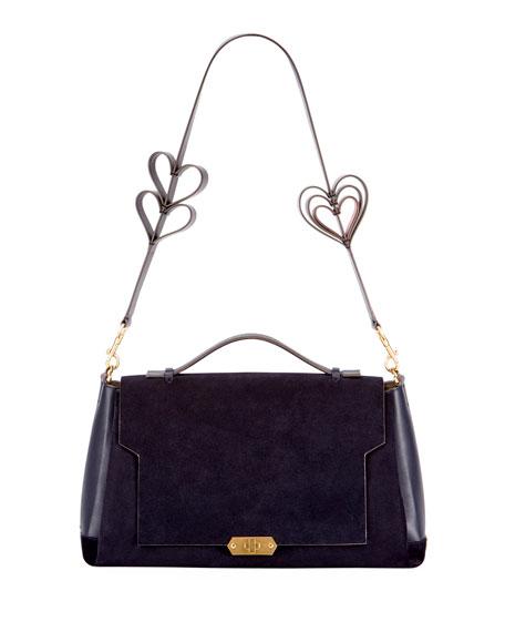 Soft Bathurst Heart Satchel Bag
