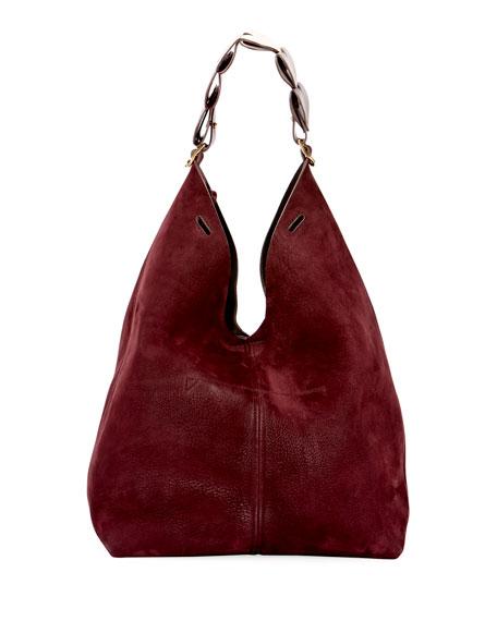 The Bucket Heart Link Chain Bag