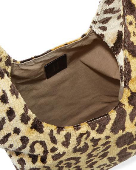 Venetian Leopard Brocade Shopper Tote Bag