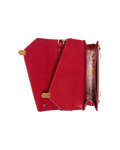 Linea Small Insect Display Bamboo Top-Handle Bag