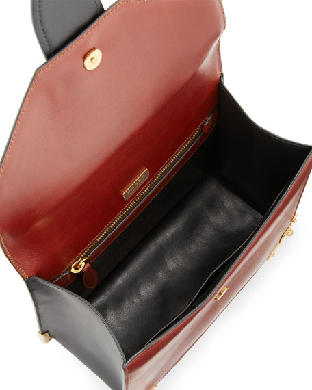 New Antic Soft Leather Satchel Bag