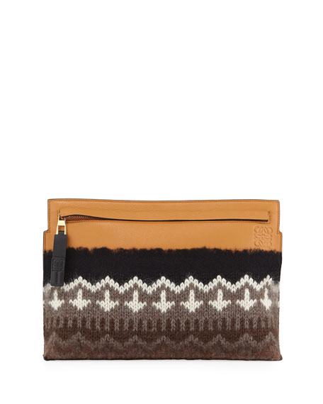 T Pouch Knit Bag