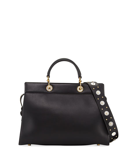 Shadow Large Leather Tote Bag