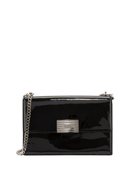 Patent RL Chain Shoulder Bag