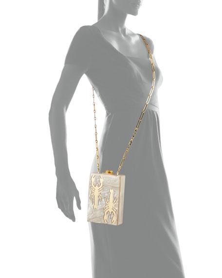 Carol Crayfish Acrylic Clutch Bag