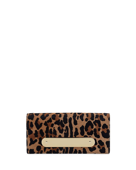 c2a2fa714752 Edie Parker Candy Bar Leopard-Print Calf Hair Clutch Bag