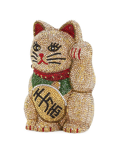 Maneki Neko Beckoning Cat Clutch Bag