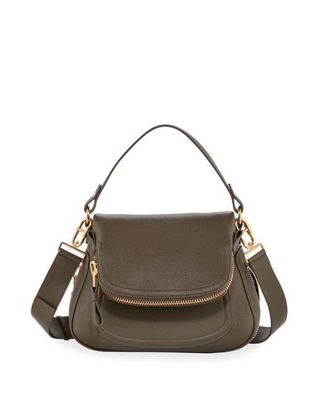 TOM FORD Jennifer Medium Leather Shoulder Bag