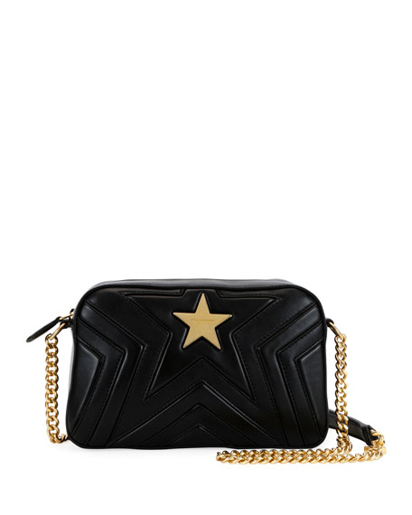 Alter Nappa Faux Leather Shoulder Bag - Black