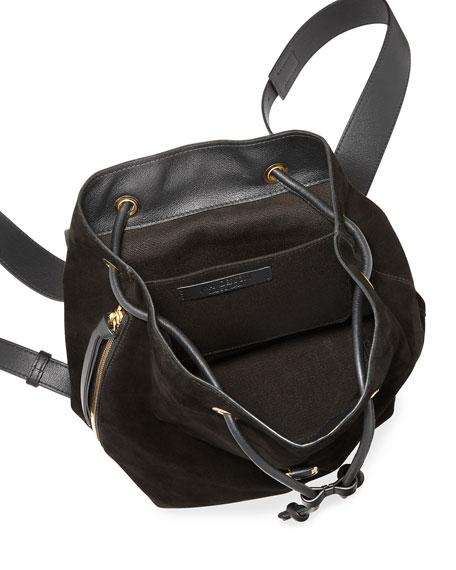 Pierce Mini Leather Backpack