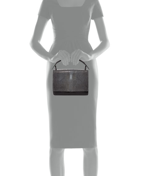 Stingray & Crocodile Flap-Top Bag
