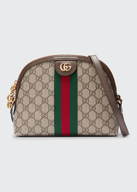 2ea86a6519 Gucci Linea Dragoni GG Supreme Canvas Small Shoulder Bag