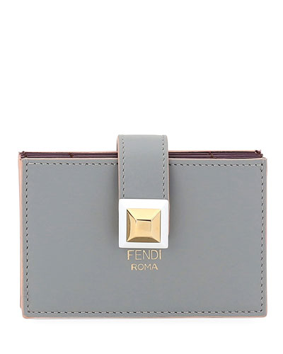 Liberty Calf Leather Flat Pouch
