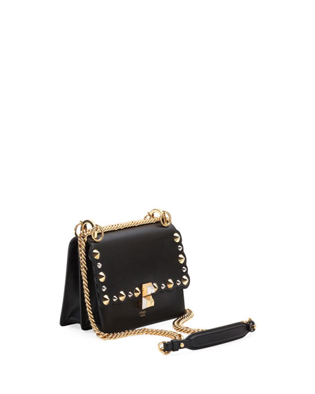 Mini Kan I Studs Shoulder Bag