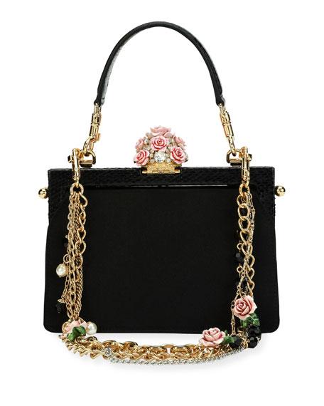 fb8c7961d1ea Vanda Embellished Rose Evening Bag