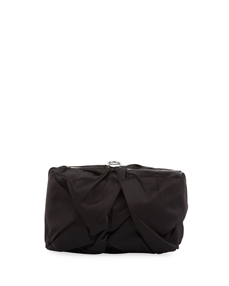 Asymmetric Framed Clutch Bag