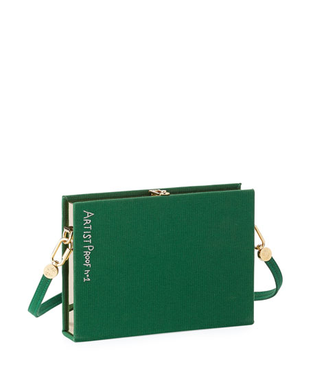 Cards on the Table Book Clutch Bag