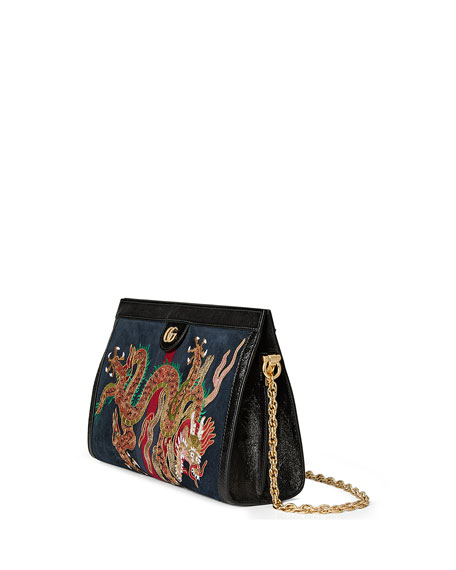 Linea Dragoni Medium Chain Shoulder Bag