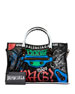 Balenciaga Classic Small City Graffiti-Print Tote Bag