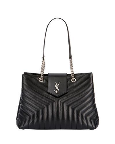 Loulou Monogram Medium Quilted Shoulder Bag