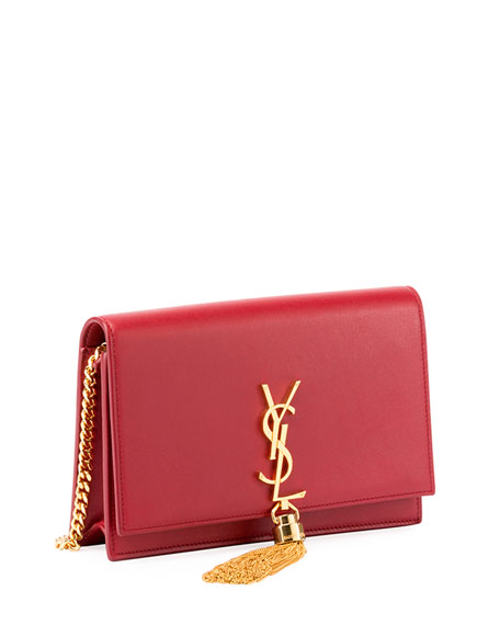 Monogram YSL Full Flap Wallet on Chain