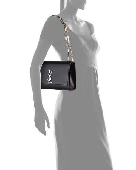 Kate Monogram Smooth Leather Medium Chain Shoulder Bag