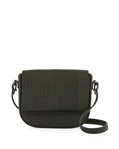 Monili Beaded Crossbody Bag