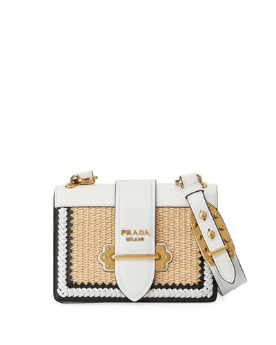 Basket Cahier Crossbody Bag