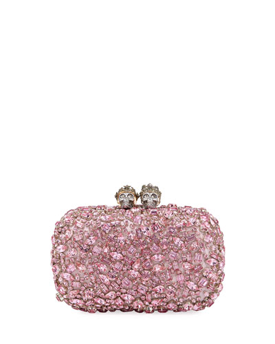 Queen & King Jeweled Clutch Bag