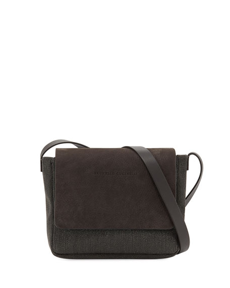 Monili Beaded Crossbody Bag