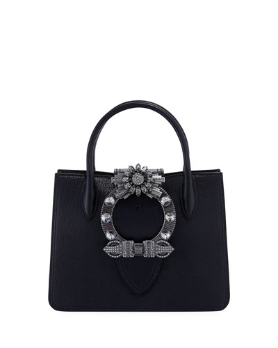 Miu Lady Crystal Tote Bag