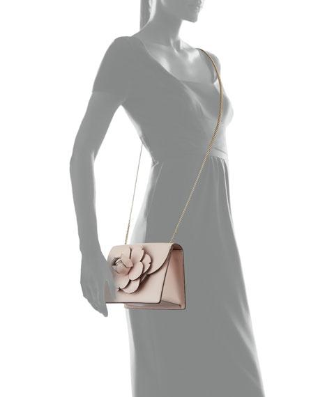 Mini Gardenia Leather Crossbody Bag