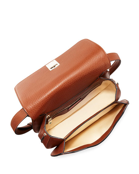 Joylock Leather Messenger Bag