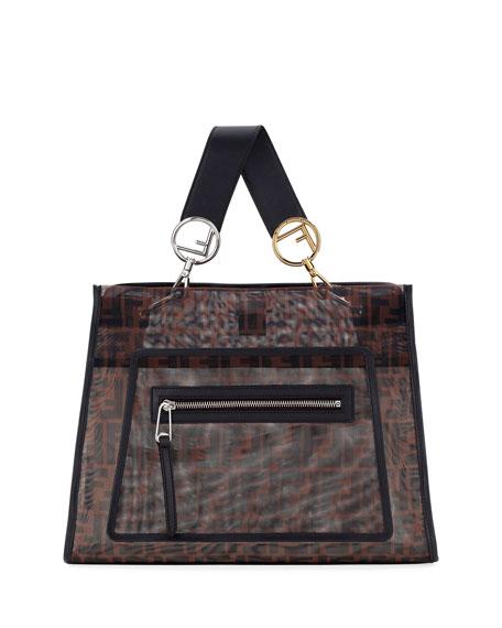 Runaway FF Mesh Shopping Tote Bag