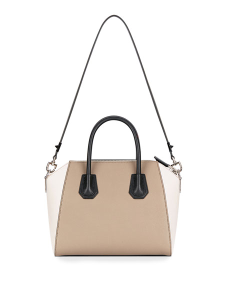 Antigona Mini Colorblock Satchel Bag