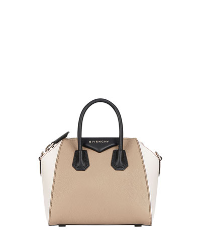 Antigona Mini Colorblock Satchel Bag