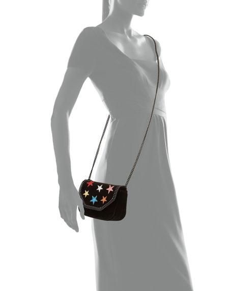 3e669704dfe3d Stella McCartney Stars Glitter Mini Falabella Box Bag