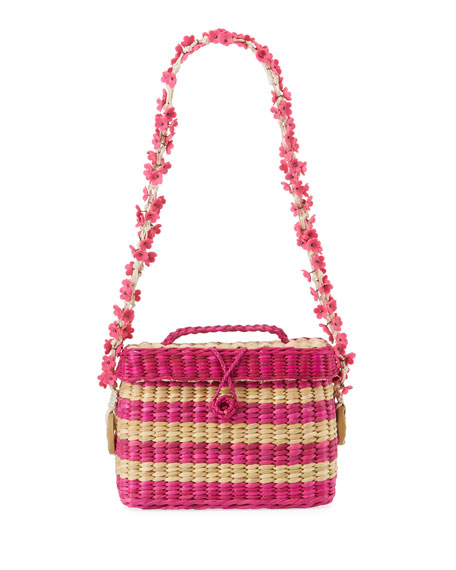 Baby Roge Striped Shoulder Bag