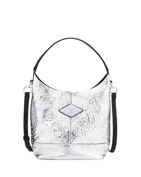 Mini Camden Metallic Shopper Bag