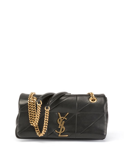 Jamie Small Diamond-Quilted Chain Shoulder Bag