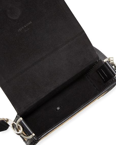 Raffia Small Attiki Crossbody Bag
