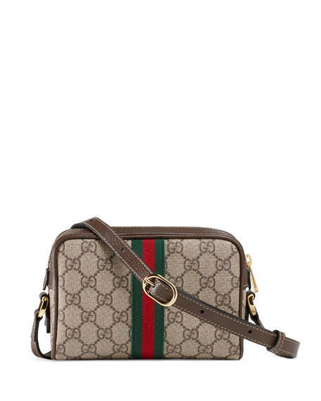 b43d98f1a24 Gucci Ophidia Small GG Supreme Crossbody Bag