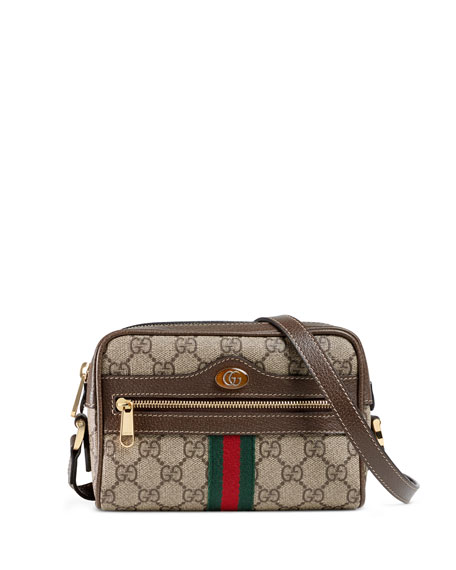 f0d8560a3ae Gucci Ophidia Small GG Supreme Crossbody Bag